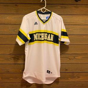 Adidas Michigan Baseball Jersey
